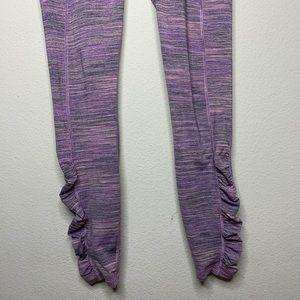 lululemon athletica Pants - LULULEMON speed tight lV space dye violet leggings